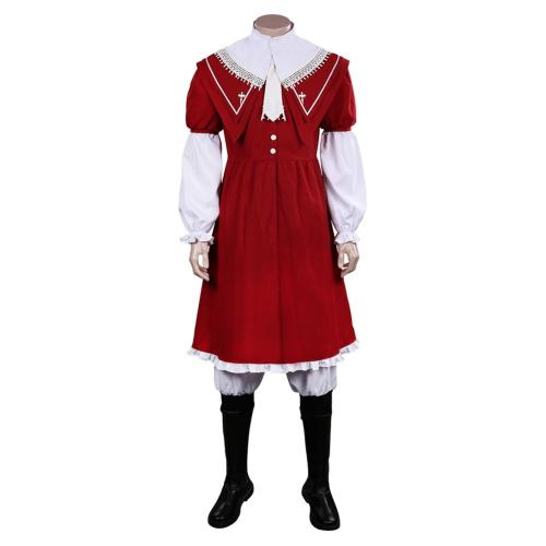 FINAL FANTASY XVI FF16 Joshua Rosfield Cosplay Costume Cloak Outfits Halloween Carnival Suit