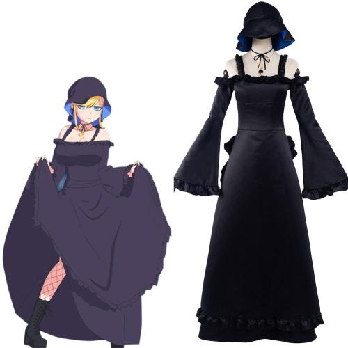 Anime Shinigami Bocchan to Kuro Maid -Alice Cosplay Costume Dress Outfits Halloween Carnival Suit