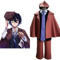 Bungo Stray Dogs Edogawa Rampo Cosplay Costume Outfits Halloween Carnival Suit