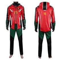 Gotham Knights Robin Cosplay Costume Outfits Halloween Carnival Suit