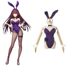 Fate/Grand Order Scáthach/Sgathaich Cosplay Costume Bunny Girls Outfits Halloween Carnival Suit