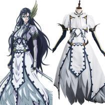 Anime Record of Ragnarok -Brunhilde  Cosplay Costume Halloween Carnival Suit