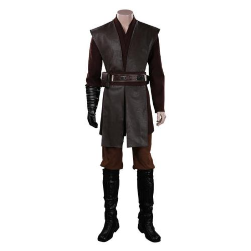 Star Wars Anakin Skywalker Outfits Halloween Carnival Suit Cosplay Costume