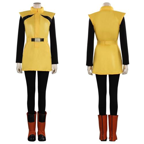 Dragon Ball Z - Bulma Cosplay Costume Outfits Halloween Carnival Suit