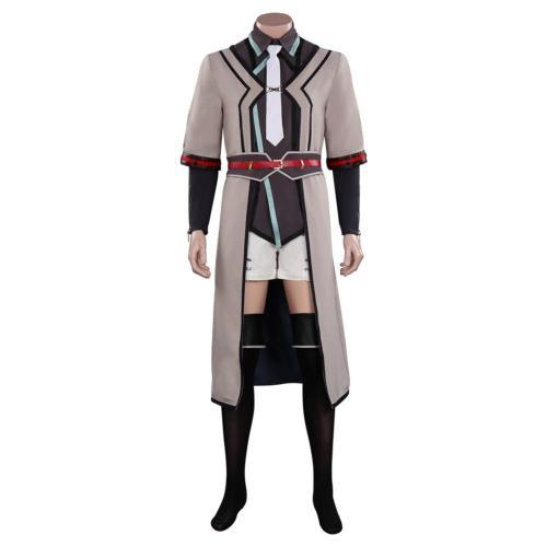 The Legend of Heroes VI Sora no Kiseki--Ctor Salicion Cosplay Costume Outfits Halloween Carnival Suit