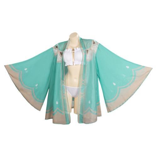 Genshin Impact - Venti/Barbatos Cosplay Costume Swimwear Cloak Outfits Halloween Carnival Suit