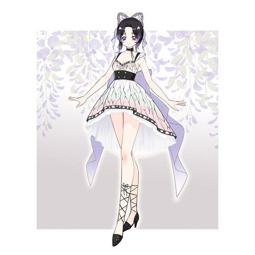 Pre-sale Kochou Shinobu Demon Slayer Lolita Dress Cosplay Costume