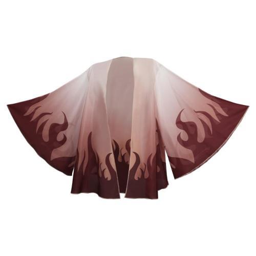 Anime Demon Slayer -Rengoku Kyoujurou Cosplay Costume Cloak Halloween Carnival Suit