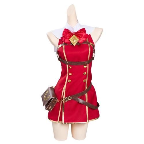 Pretty Derby Gold Ship Cosplay Costume Outfits Halloween Carnival Suit