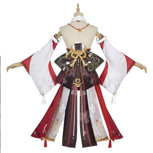Genshin Impact - Yae Miko Cosplay Costume Outfits Halloween Carnival Suit