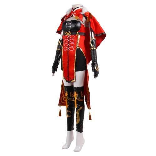 Genshin Impact Beidou Cosplay Costume Outfits Halloween Carnival Suit