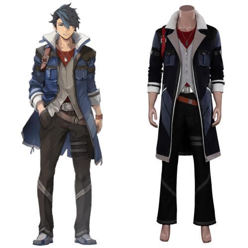 The Legend of Heroes VI Sora no Kiseki---Van Arkride Cosplay Costume Outfits Halloween Carnival Suit