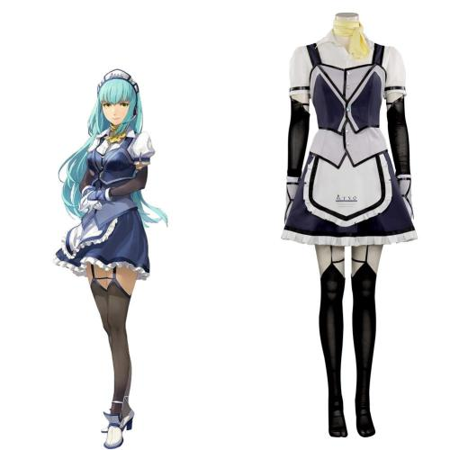 The Legend of Heroes VI Sora no Kiseki---Lysette Twining Cosplay Costume Outfits Halloween Carnival Suit
