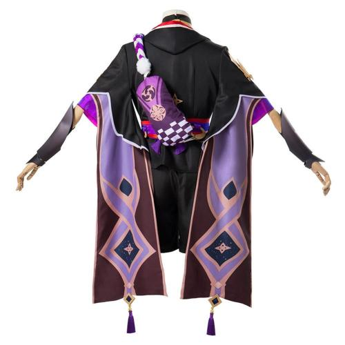 Genshin Impact Fatui Cosplay Costume  Outfits Halloween Carnival Suit