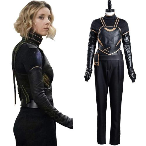 TV Sylvie Lady Loki Cosplay Costume Outfits Halloween Carnival Suit