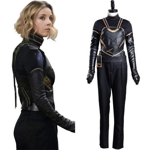 2021 TV Loki Sylvie Lady Loki Cosplay Costume Outfits Halloween Carnival Suit