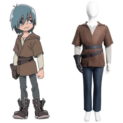 Star Wars: Visions Cosplay Costume Kids Children Outfits Halloween Carnival Suit