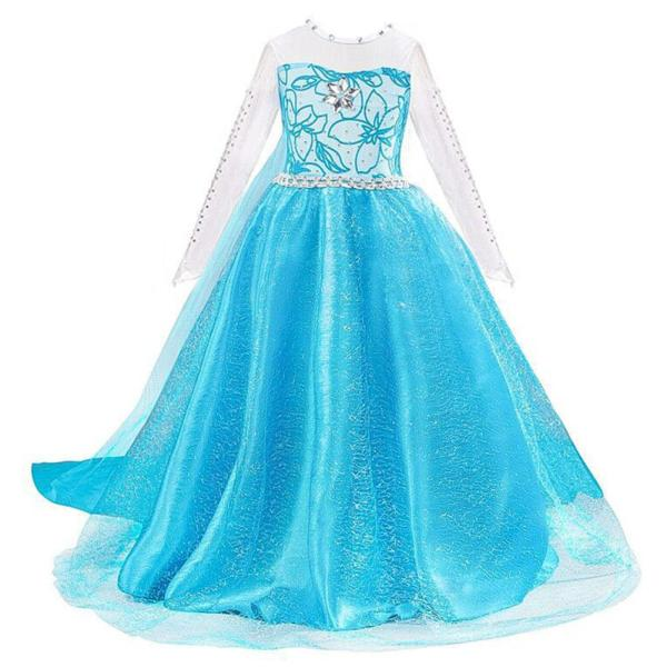 Girls Princess Dress Children Elsa Costume for Carnival Kids Snow Queen Frozen Holiday Birthday Party Dress Girl Clothes