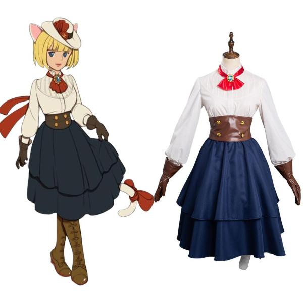Game Ni no Kuni: Cross Worlds -Witch Cosplay Costume Outfits Halloween Carnival Suit