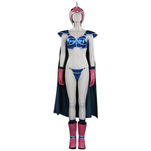 Dragon Ball Z - Chichi  Cosplay Costume Outfits Halloween Carnival Suit
