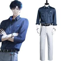 Game Light and Night - Osborn Cosplay Costume Shirt Pants Outfits Halloween Carnival Suit