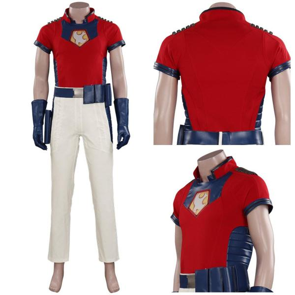 The Suicide Squad-Peacemaker Cosplay Costume Outfits Halloween Carnival Suit