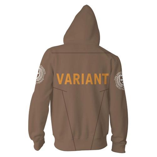 Loki VARIANT Cosplay Hoodie 3D Printed Hooded Sweatshirt Adult Casual Streetwear Zip Up Jacket Coat