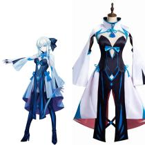 Fate/Grand Order FGO -Morgan le Fay Cosplay Costume Outfits Halloween Carnival Suit