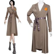 Loki TVA Time Variance Authority Cosplay Costume Dress Outfits Halloween Carnival Suit Re-creation Design