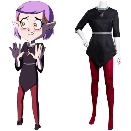 The Owl House Amity Cosplay Costume Outfits Halloween Carnival Suit