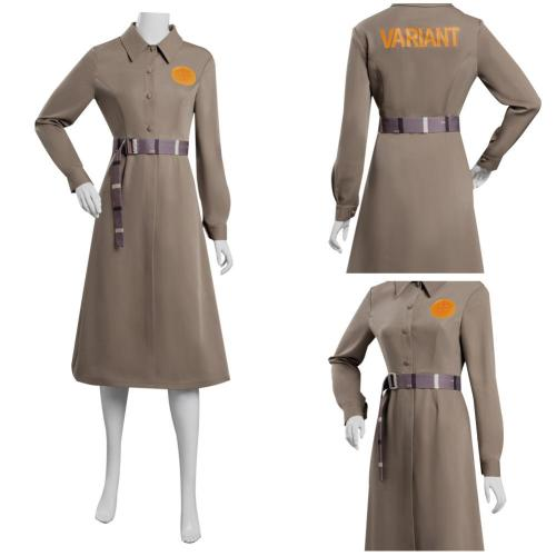 Loki TVA Time Variance Authority Cosplay Costume Coat Outfits Halloween Carnival Suit Re-creation Design