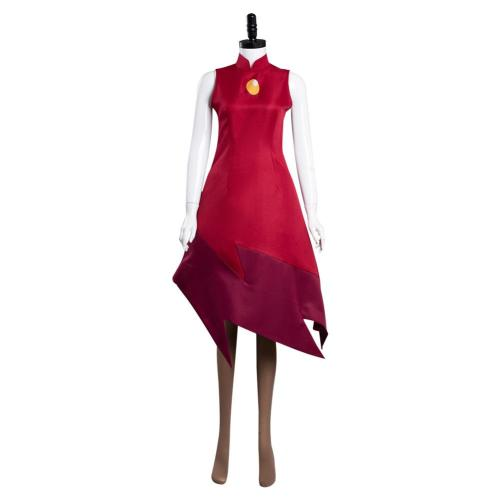 The Owl House Edalyn Clawthorne  Cosplay Costume Dress Outfits Halloween Carnival Suit
