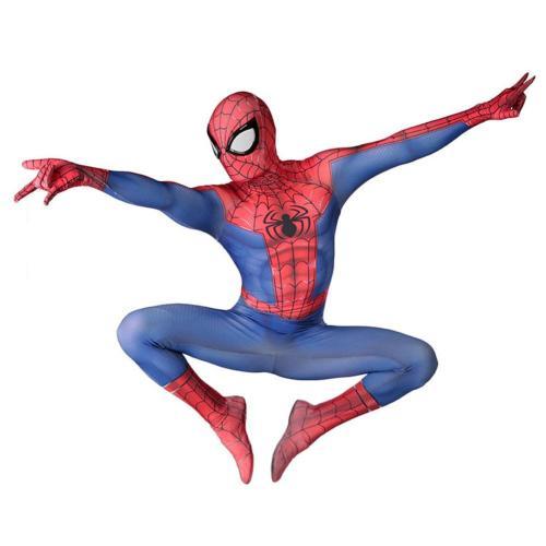 Spiderman Cosplay Costume 3D Print Jumpsuit Zentai Suit Halloween Carnival Suit for Adult Kids