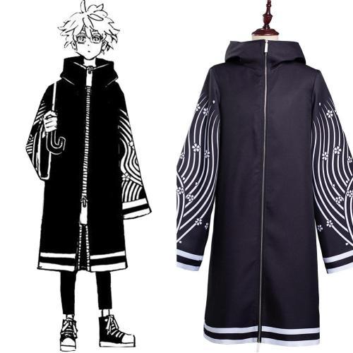 Tokyo Revengers Senju Kawaragi Cosplay Coat Costume Outfits Halloween Carnival Suit