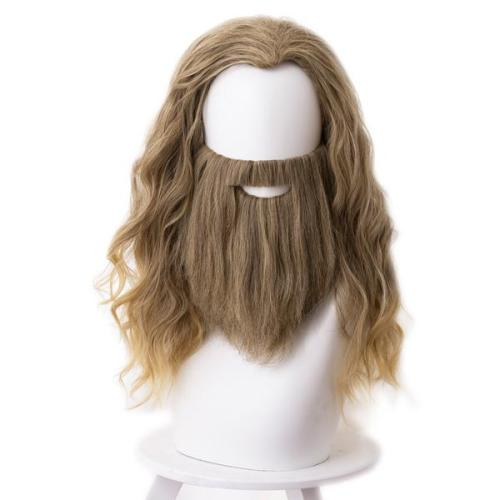 Avengers Endgame Fat Thor Halloween Carnival Cosplay Wig