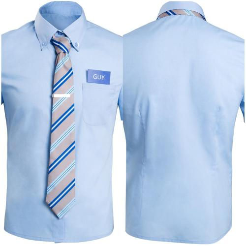FREE GUY - Guy Cosplay Costume Shirt Halloween Carnival Suit