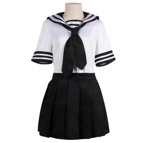 Tokyo Revengers Kawaragi Senju Cosplay Costume JK Sailor Suit Halloween Carnival Suit
