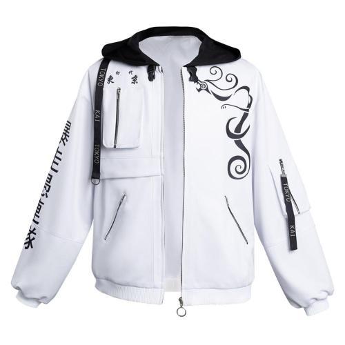 Tokyo Revengers Motorcycle Jacket Cosplay Costumes Coat Halloween Carnival Suit