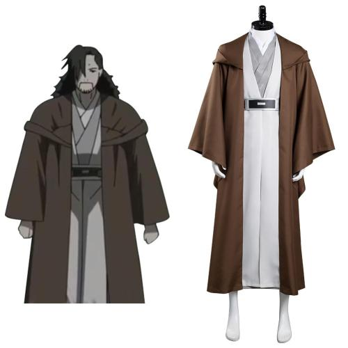 Star Wars: Visions The Elder - Tajin  Cosplay Costume Outfits Halloween Carnival Suit