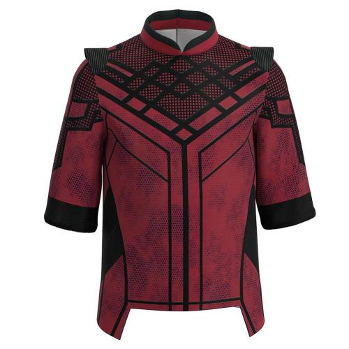 Kids Shang-Chi and the Legend of the Ten Rings -Shang-Chi Cosplay Costume Coat Halloween Carnival Suit