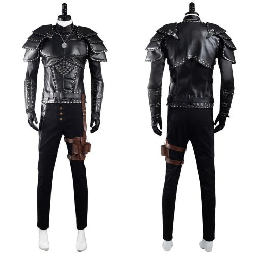 The Witcher Geralt of Rivia Cosplay Costume Outfits Halloween Carnival Suit