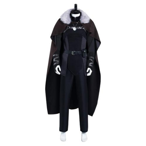 The Witcher: Nightmare of the Wolf- Vesemir Cosplay Costume Outfits Halloween Carnival Suit