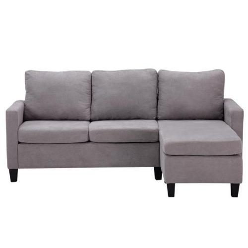 Double Chaise Longue Combination Sofa Light Grey