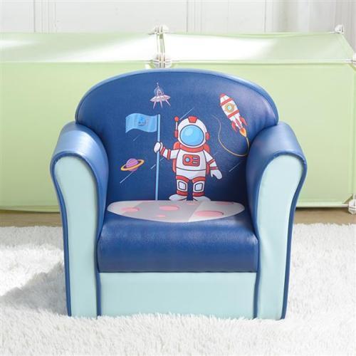 Children's Single Sofa(Space Series, Boy Blue / Cute Series, Girl Pink)