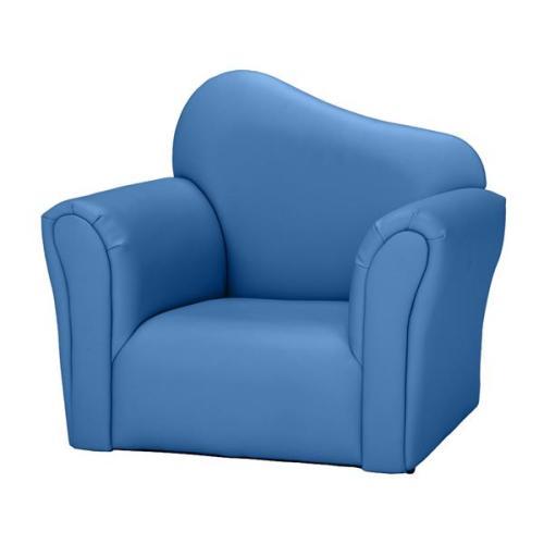 Children Single Sofa Bent Back Blue / Pink