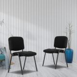 5pcs Mesh Office Chair without Arms Black (55x53*79)cm