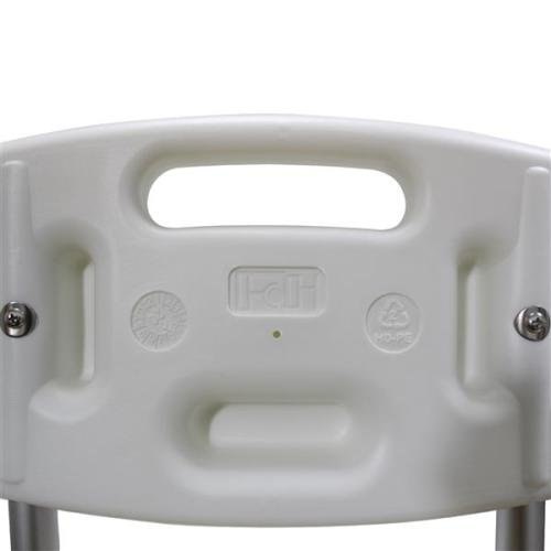 FCH Medical Bathroom Safety Shower Tub Aluminium Alloy Bath Chair Transfer Bench with Wide Seat White