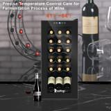 American Standard JC-53 AC 115V /60Hz 18Bottle/1.8Cu.Ft/52L/ Compressor Wine Cabinet Black