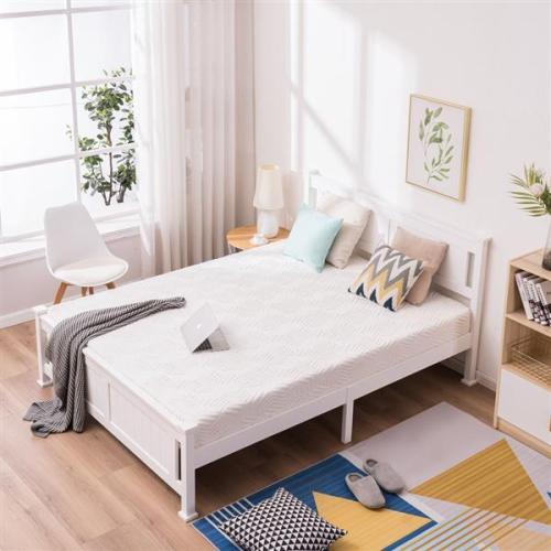 PWB-005 Cap Vertical Bed White Queen