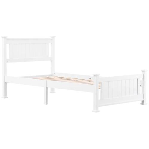 PWB-005 Cap Vertical Bed White Twin